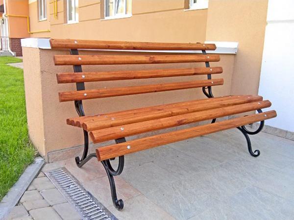 Скамейка «Скамейка без перил ‑ 1,5м»
