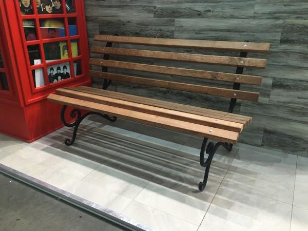 Скамейка «Скамейка без перил ‑ 1,75м»