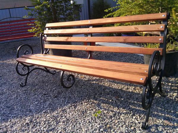 Скамейка «Скамейка с перилами ‑ 1,75м»