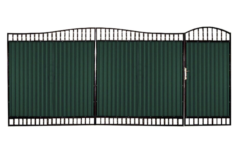 Ворота металлические №10