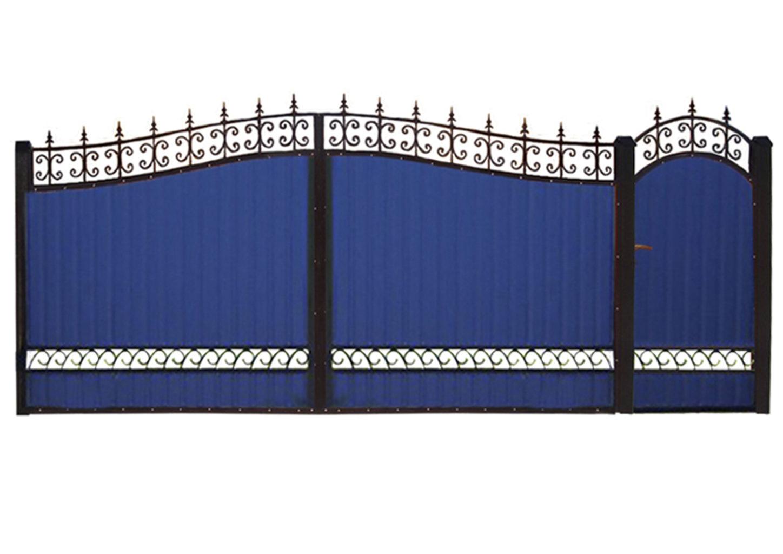 Ворота металлические №13
