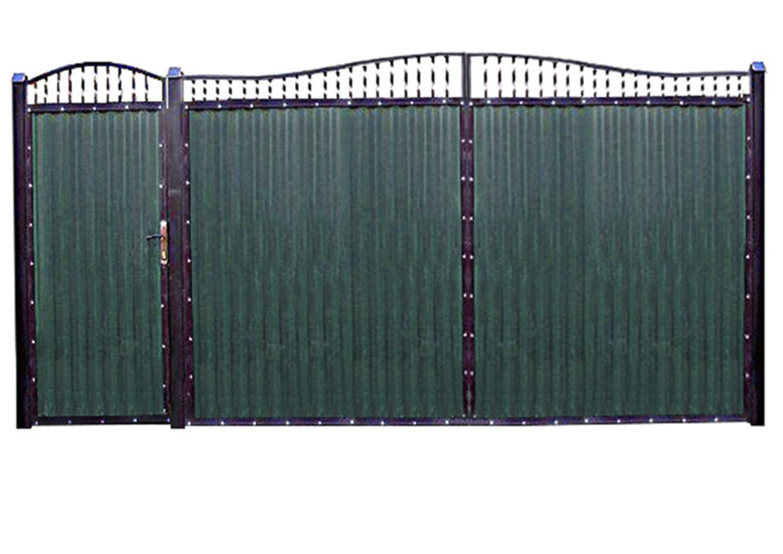 Ворота металлические №2