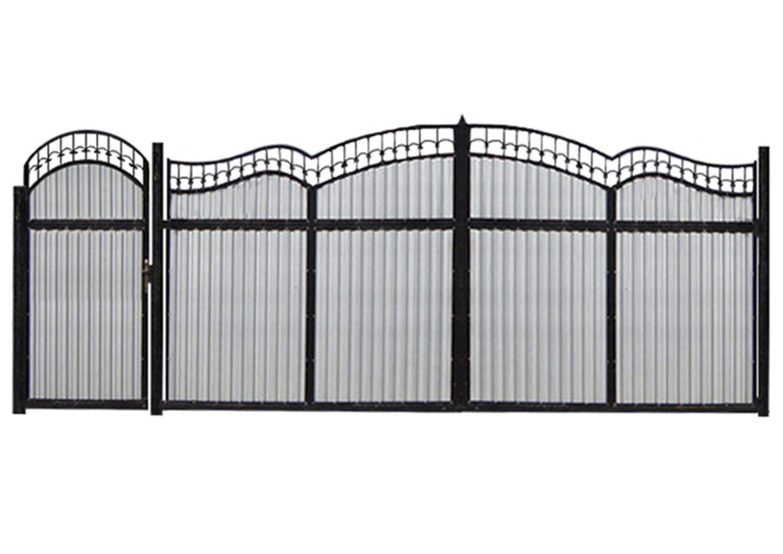 Ворота металлические №21