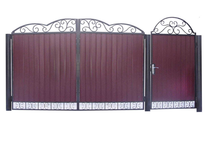 Ворота металлические №23
