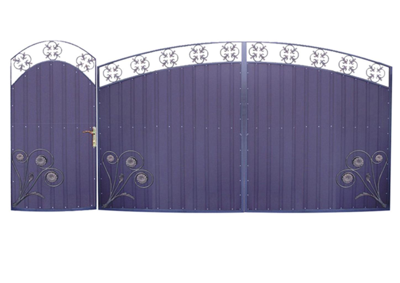 Ворота металлические №24