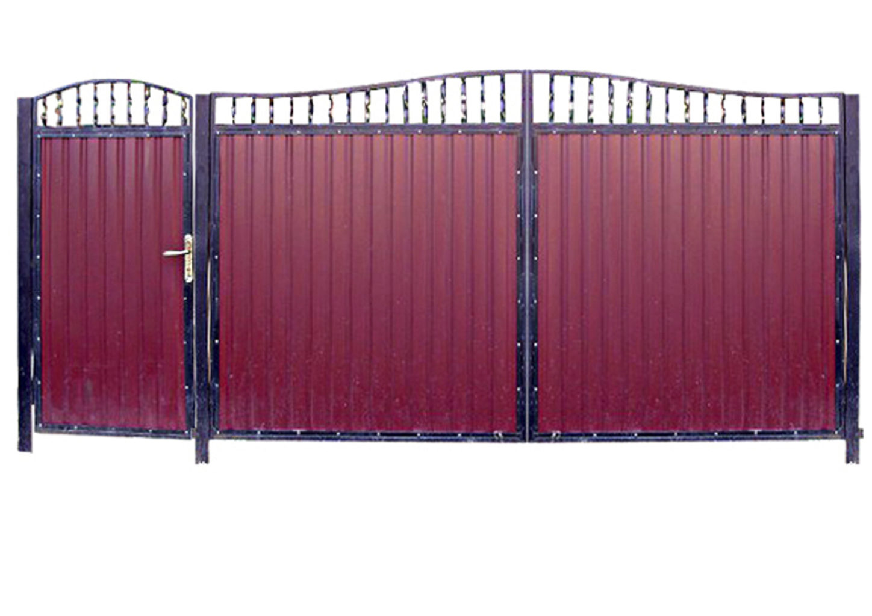 Ворота металлические №6