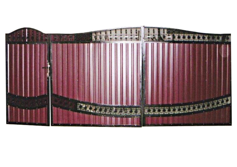 Ворота металлические №8